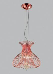 SILHOUETTE Ø 40, Lampe à suspension avec verre soufflé de Murano