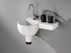 IDEA 2.0 SPHERE WASHBOWL, Vasque avec étagère intégrée