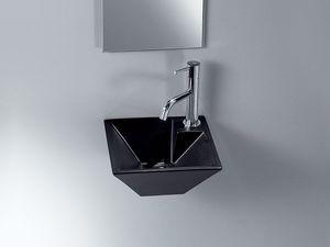 IDEA PIRAMID WASHBOWL, Vasque en céramique, pour l'espace public