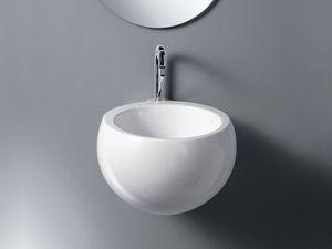 IDEA SPHERE WASHBOWL, Vasque en céramique, pour l'espace public