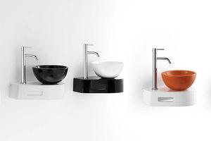 SPOT MINI WASHBOWL, Vasque en céramique, pour l'espace public