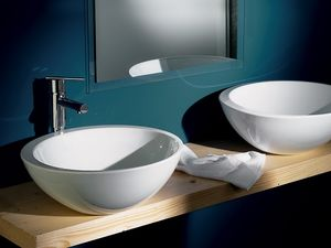 SPOT SOLEIL BASIN, Grande vasque en céramique