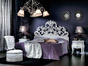 711 LIT, Lit double baroque, pour hôtel de luxe