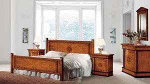 Art. 531, Classique lit double idéal pour les hôtels de luxe