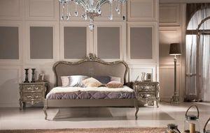 Art. 810, Lit double classique avec tête de lit