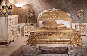 Art. 950, Lit classique avec tête de lit rembourrée pour hôtel
