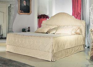 Betty, Classique lit, tête de lit capitonnée, à l'hôtel de luxe