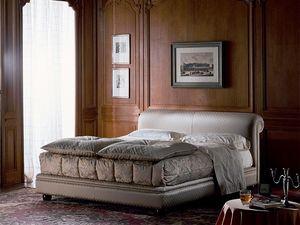 Caravaggio, Luxe classique lit rembourré, des chambres d'hôtel