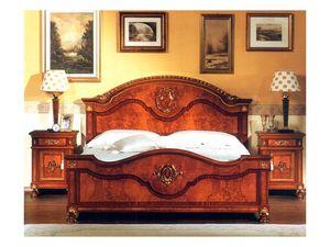 DUCALE DUCLE / lit double, Lit double avec tête et pied de frêne