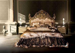 F120/B, Lit double, de style Versailles