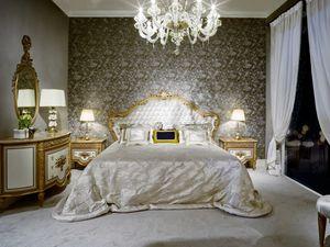 Lit 3700 de style Louis XVI, Lit de luxe de style Louis XVI