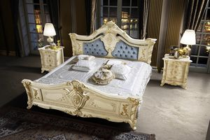 Madame Royale lit, Magnifique lit sculpté