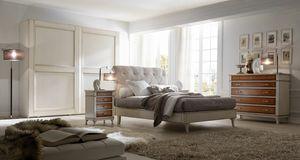 Senza Tempo letto, Lit pour chambres de style classique