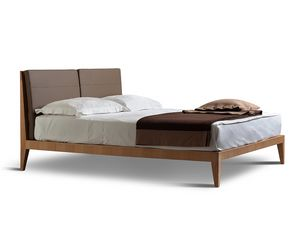 Felice 2890, Lit avec tête de lit à lattes et coussins amovibles