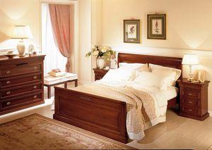 Romantica lit, Lit en bois, style classique