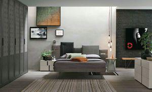 Skyline, Lit avec tête de lit qui rappelle les villes métropolitaines