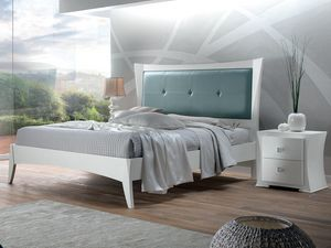 Vela lit, Lit en bois blanc