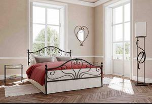 Fidelio, Lit avec tête de lit en fer