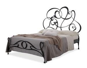 Gabriel lit, La main de fer lit double, dans un style moderne