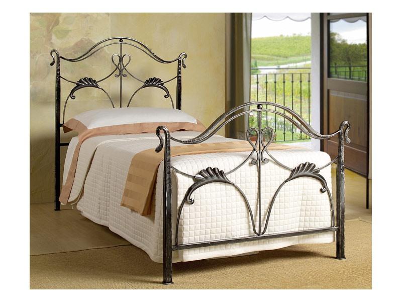 Ottocento Single Bed, Lit simple de style Art Nouveau, à usage d'habitation