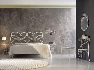 Tango, Fer forgé lit double, dans un style moderne