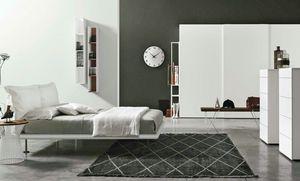 Dream, Lit avec tête de lit composé de deux coussins moelleux