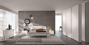 London, Lit double moderne adapté aux hôtels
