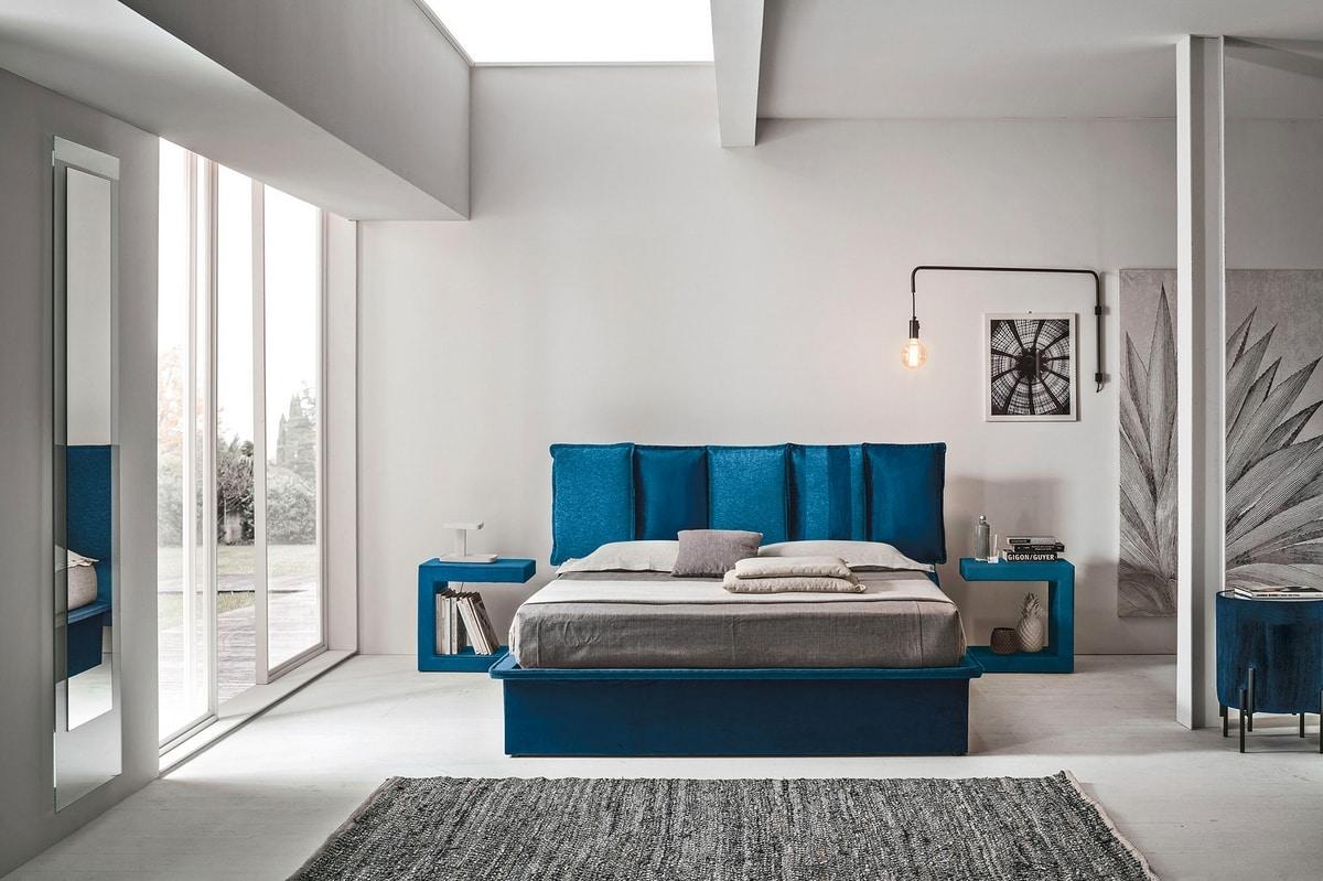 SANTORINI BD464, Lit design contemporain
