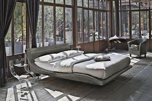 SARDEGNA KB447, Moderne lit king size idéal pour les hôtels
