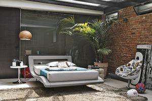 SARDEGNA SD447, Lit une place et demie adapté pour les chambres et les hôtels modernes