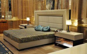 Vip lit, Lit avec tête de lit et structure rembourrées