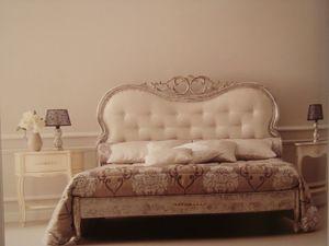 Art. 967, Lit double classique pour la chambre à coucher, sculpté