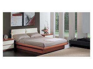 Bedroom 11, Lit avec boîte de rangement, tête de lit capitonnée avec sellerie amovible, adapté à l'ameublement moderne
