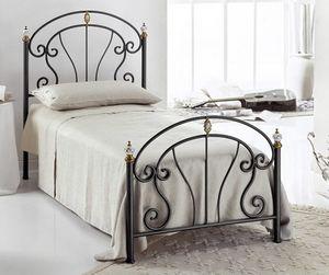 Bolero Single Bed, Lit en fer, pour les chambres modernes