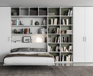 FILO space saving, Pi�ce de rangement avec lit double extractible
