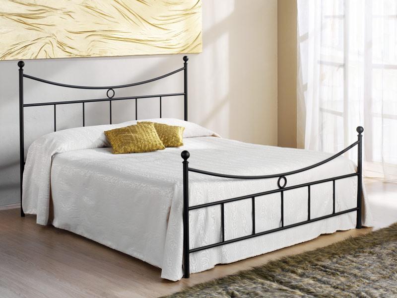 Gabbiano Double Bed, Avec tête de lit en fer, des hôtels et des maisons