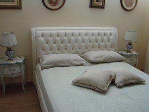 Gias, Lit classique pour les chambres, avec boîte de rangement