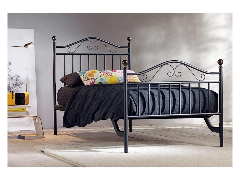 Giulia Single Bed, Lits en fer à la main pour Hôtel Room