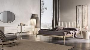 lit Urbino, Lit en métal conique, visser ensemble