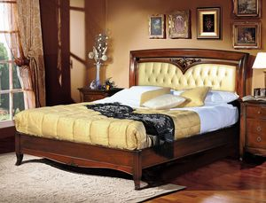 Praga lit, Lit de luxe classique, tête de lit tuftée rembourrés