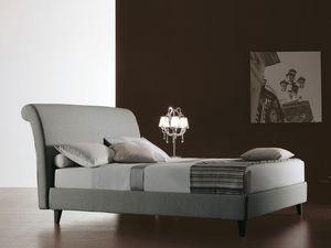 Royal, Lit recouvert de tissu, pour usage résidentiel