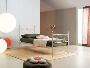 Vienna single bed, Lit simple de style Art Nouveau, des hôtels élégants