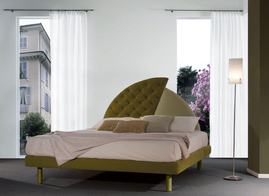 Vogue, Lit rembourré, tête de lit originale, pour les hôtels classiques