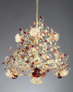 990110, Lustre en verre de Murano