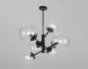 GLOBAL Ø 80/ Ø 50, Lustre avec des sphères acryliques