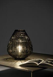 Reflex, Lampe de table en verre soufflé