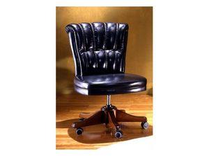 Kiev, Luxueux chaise de bureau en cuir