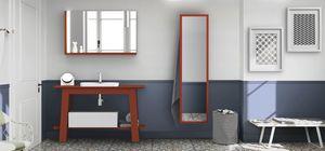 Bath Table 08, Meubles de salle de bain en corail rouge