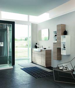 BLUES BL-06, Composition de meubles pour une salle de bain moderne