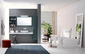 Byte 2.0 comp.05, Meuble de salle de bain avec étagères